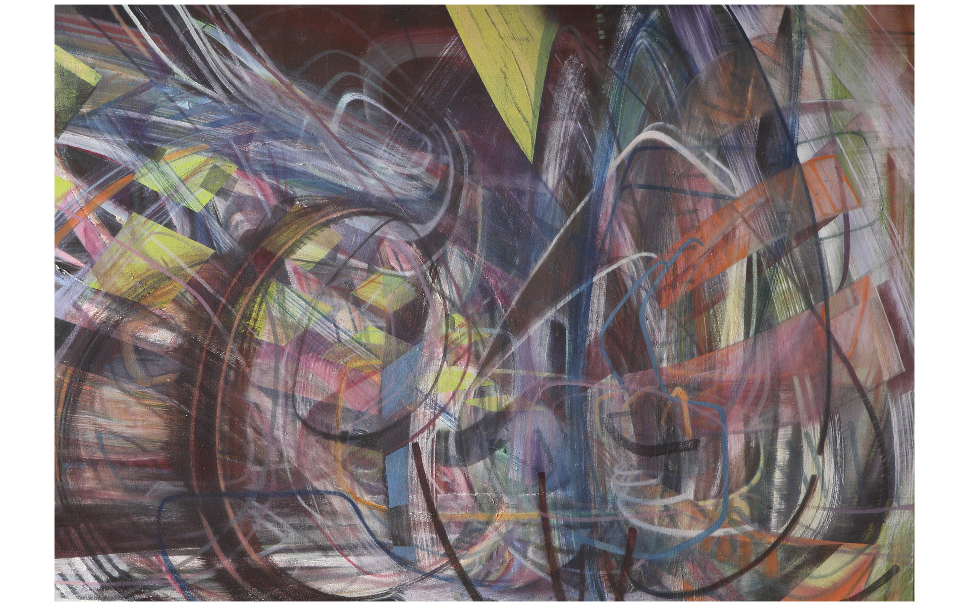 Dizzy, painting by Dipesh Parmar